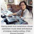 Apakah Anda ingin jadi penulis? Pengarang sekaligus penulis tenar Naning Pranoto berbagi ilmunya untuk Anda. Ternyata tidak sulit, lho, menjadi penulis. Ini tipsnya! Menulis sudah jadi keseharian sastrawan Naning Pranoto. […]