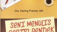 Telah terbit! Minggu depan sudah beredar di Toko Gramedia Jakarta. Karya terbaru Naning Pranoto. (Hari ini sudah ada yang 'memborong' 600 eksemplar…terima kasih pada Ibu yang memborong buku saya, sebagian […]