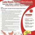 MARI KITA KOKOHKAN TEMALI EMAS NKRI Kami mengundang anak-anak dan remaja di seluruh Indonesia maupun yang sedang studi atau merantau bersama orangtuanya di luar negeri untuk menulis Puisi Ekspresi Jiwa […]