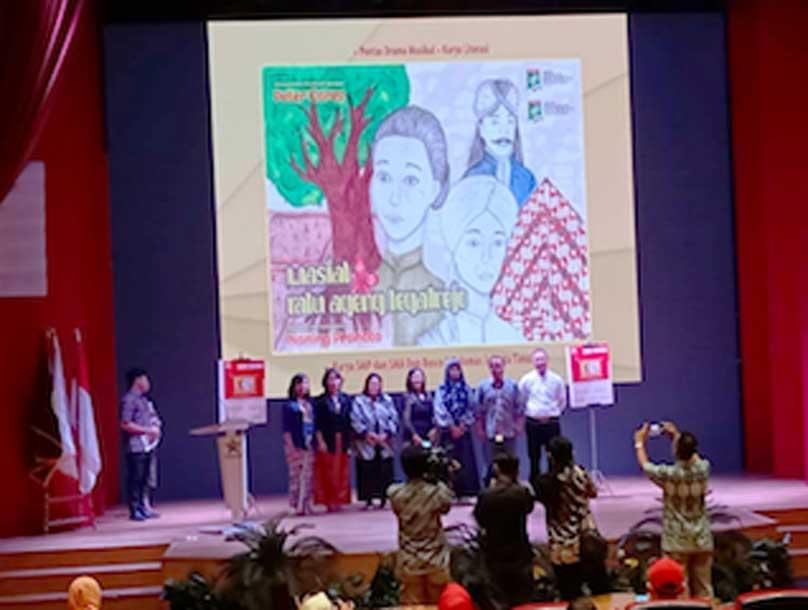 Peluncuran Buku Wasiat Ratu Ageng Tegalrejo di Perpustakaan Nasional RI Jakarta