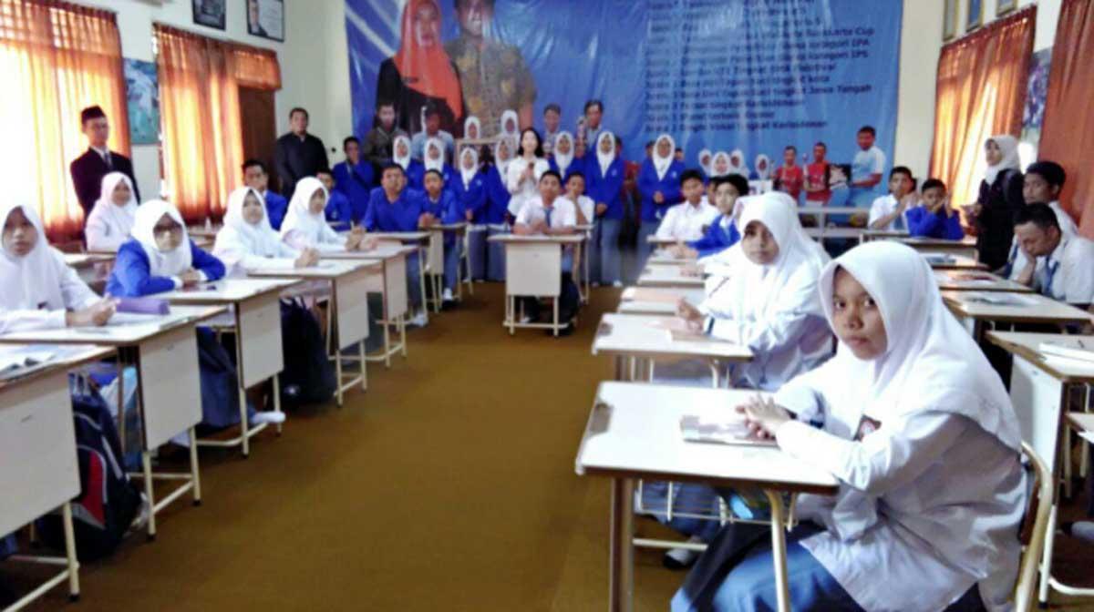 Kunjungan Staf Kyoungdong University Korea Selatan di SMA Muammadiyah 2 Surakarta