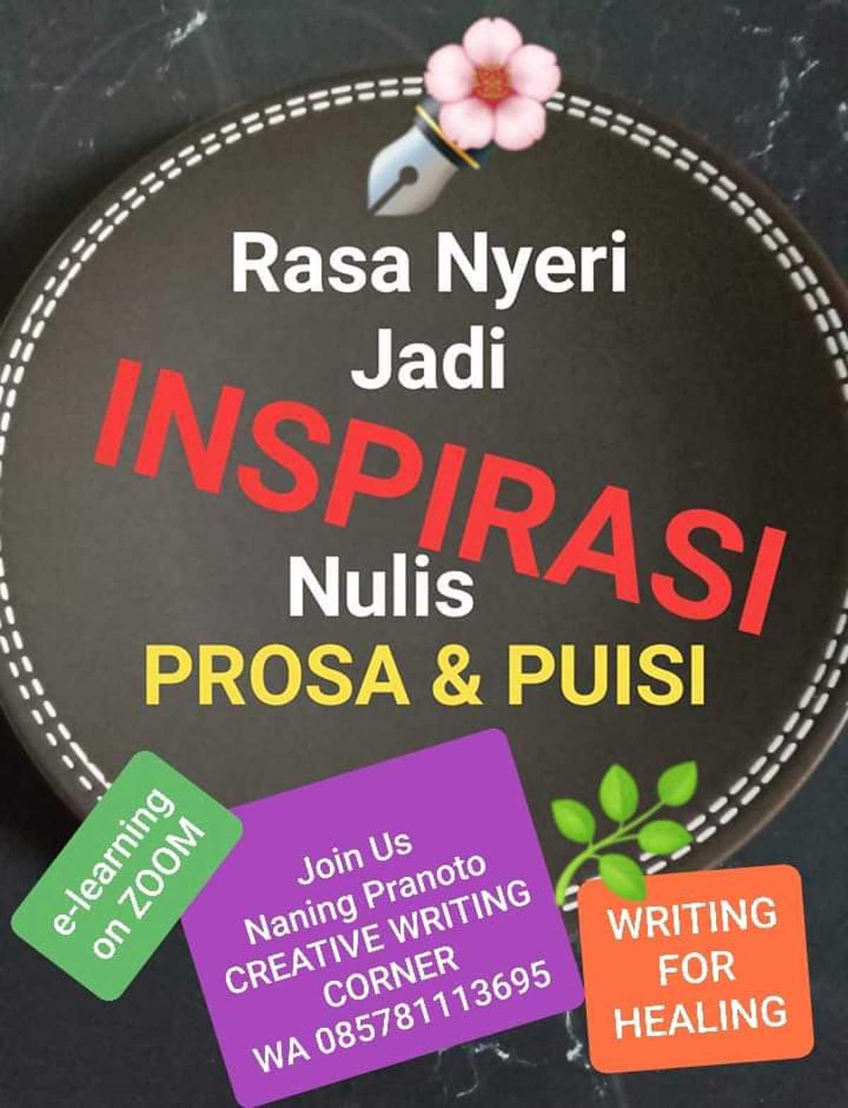 Inspirasi Nulis Puisi dan Prosa