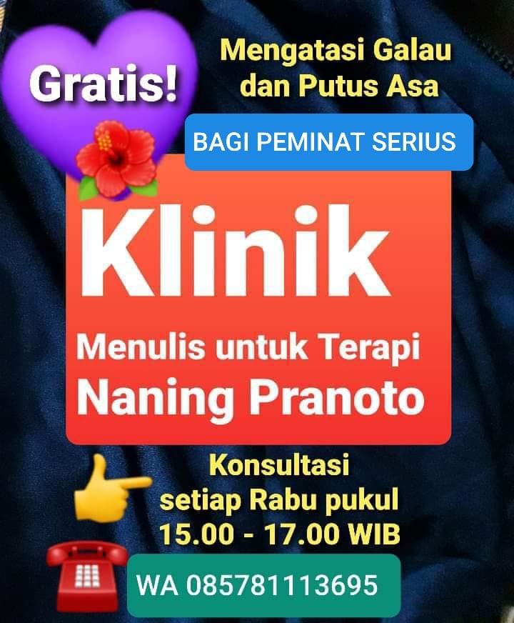 Klinik Menulis Untuk Terapi - Naning Pranoto